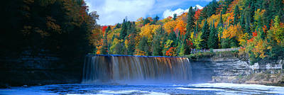 Tahquamenon Fall State Park. Inspired Poster by Panoramic Images