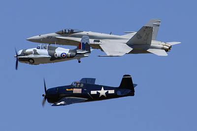 Tailhook Legacy Flight Hornet Wildcat Hellcat Poster