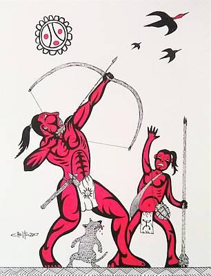 Taino Hunt Poster