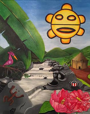 Taino Symbology Poster by David Galarza