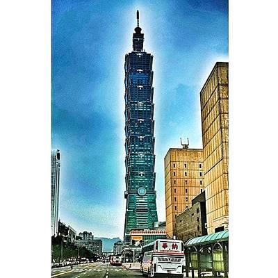 Taipei 101 (chinese: 台北101 / Poster