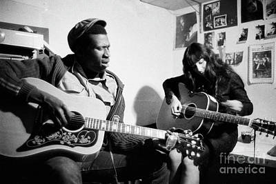 Taj Mahal And Buffy Sainte-marie  Poster by The Harrington Collection