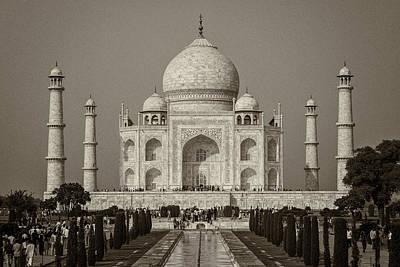 Taj Mahal Poster by Hitendra SINKAR