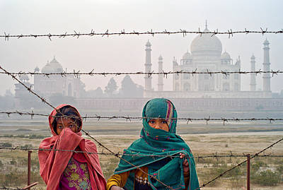 Taj Mahal II Poster by Tina Manley