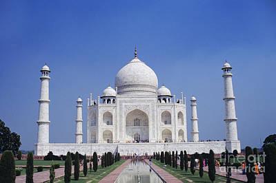 Taj Mahal Landscape Poster by Gloria & Richard Maschmeyer - Printscapes