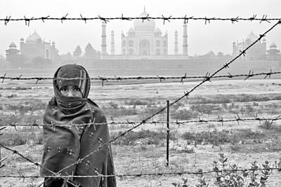 Taj Mahal Poster by Tina Manley