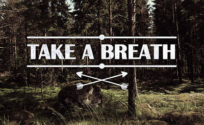 Take A Breath Poster by Nicklas Gustafsson