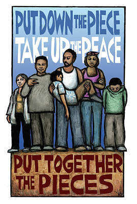 Take Up The Peace Poster