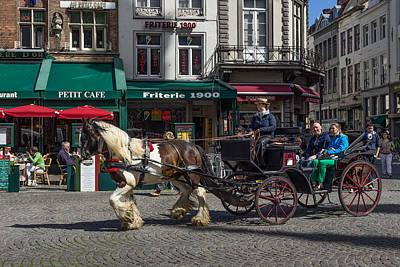 Taking In Brugge  Poster