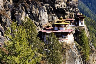Taktsang Monastery  Poster by Fabrizio Troiani