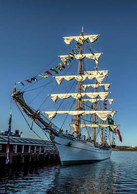 Tall Ship Cuauhtemoc Poster