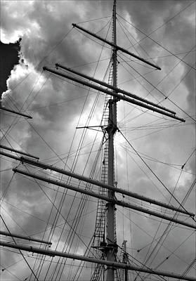 Tall Ship Masts Poster
