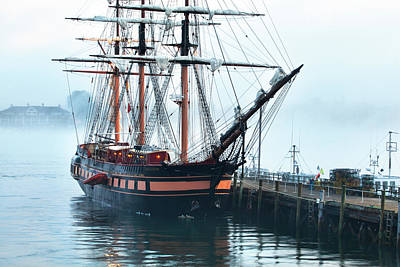 Tall Ship Oliver Hazard Perry Poster by Eric Gendron
