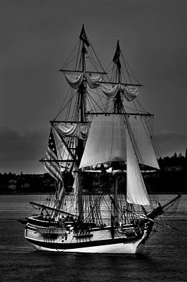 Tall Ships In Tacoma 2 Poster by David Patterson