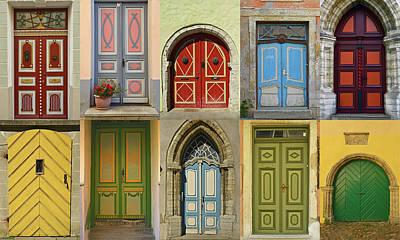 Tallinn Doors Poster