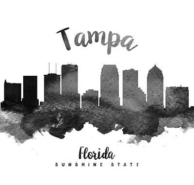 Tampa Florida Skyline 18 Poster