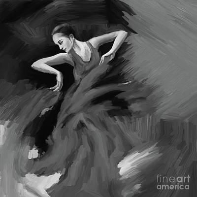 Tango Dancer 032 Poster