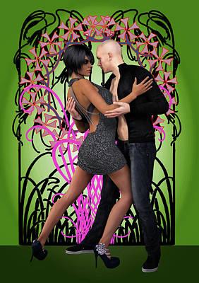 Tango De Las Flores Poster by Joaquin Abella
