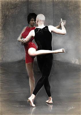 Tango Poster by Joaquin Abella