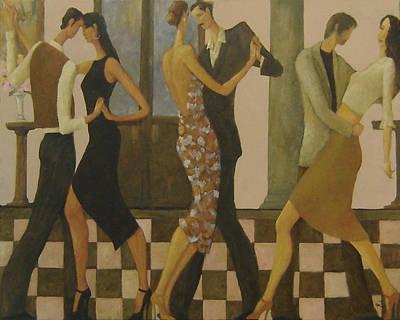 Tango Night Poster by Glenn Quist