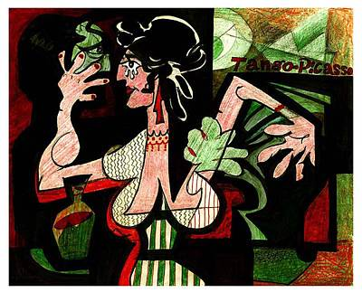 Tango Picasso Poster
