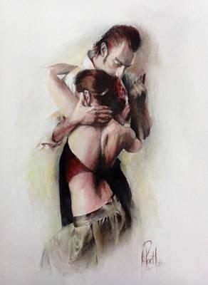 Tango Quartet 1/4 Poster by Alan Kirkland-Roath