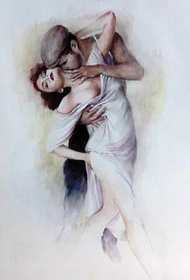 Tango Quartet 2/4 Poster by Alan Kirkland-Roath