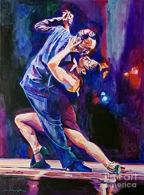 Tango Romantico Poster by David Lloyd Glover