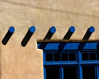 Taos Afternoon Poster
