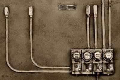 Taos Electric Poster by Joe Bonita