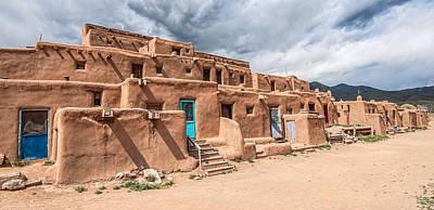 Taos Pueblo New Mexico Poster