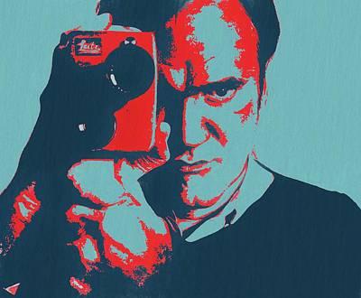 Tarantino Pop Art Poster by Dan Sproul