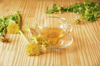 Poster featuring the photograph Taraxacum Tisane by Traven Milovich