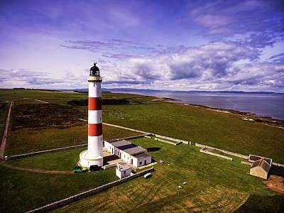 Tarbat Ness Lighthouse Poster