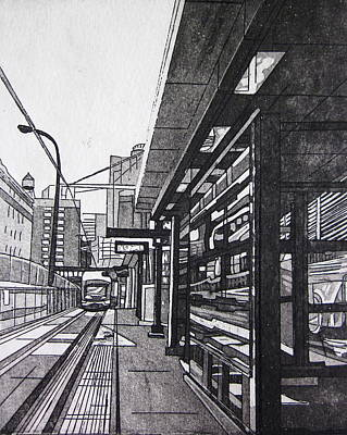 Target Station Poster by Jude Labuszewski