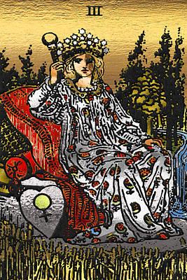 Tarot Gold Edition - Major Arcana - The Empress Poster