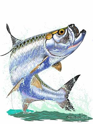 Tarpon Digital Poster