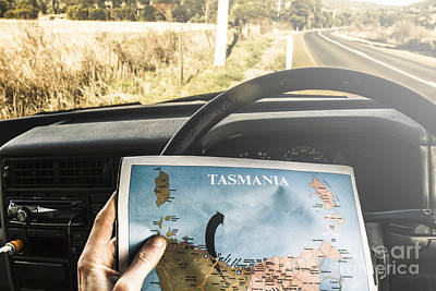 Tasmania Road Trip Poster by Jorgo Photography - Wall Art Gallery