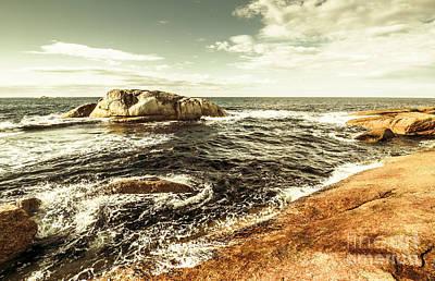 Tasmanian Sea Landscape Poster