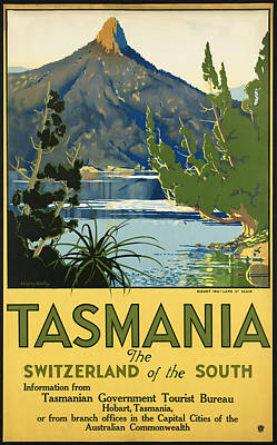 Tasmania_switzerland Of The South Poster by David Wagner