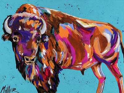Tatanka Poster by Tracy Miller