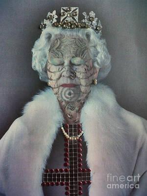 Tattooed Queenie Poster