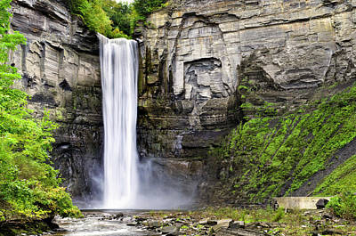 Taughannock Falls Gorge Poster by Christina Rollo