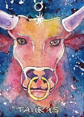 Taurus Poster by Ruth Kamenev