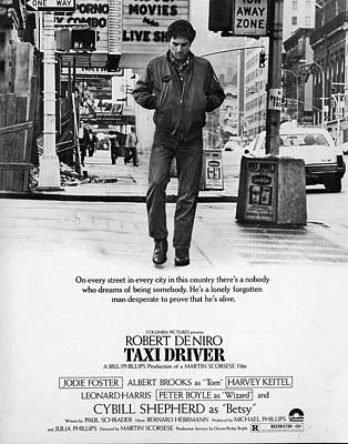 Taxi Driver Poster by Hans Wolfgang Muller Leg