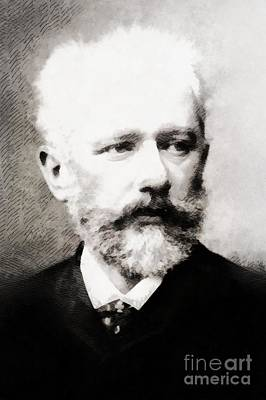Tchaikovsky, Composer Poster