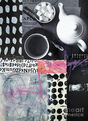 Tea At Garcon Poster
