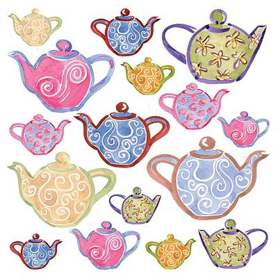Tea For Two Poster by Sarah Hough