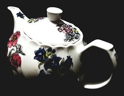 Tea Time - Photograph Poster by Katrina Britt