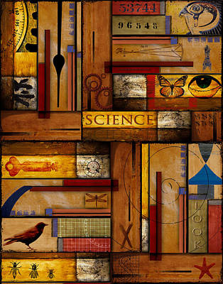 Teacher - Science Poster by Carol Leigh